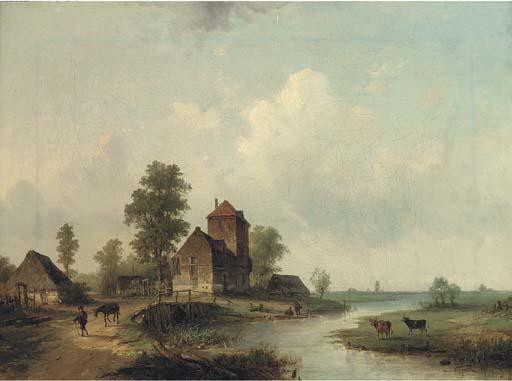 Louis Smets (Dutch, 19th Centu