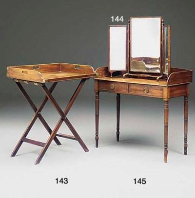 A MAHOGANY DRESSING TABLE