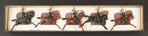 A  Britains set Bengal Cavalry