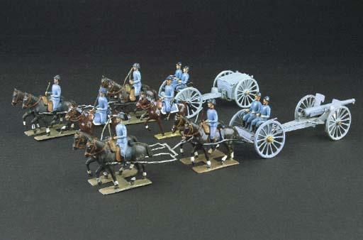 Mignot World War I Horse-drawn