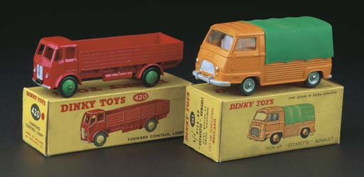 Dinky Cars and Commercials