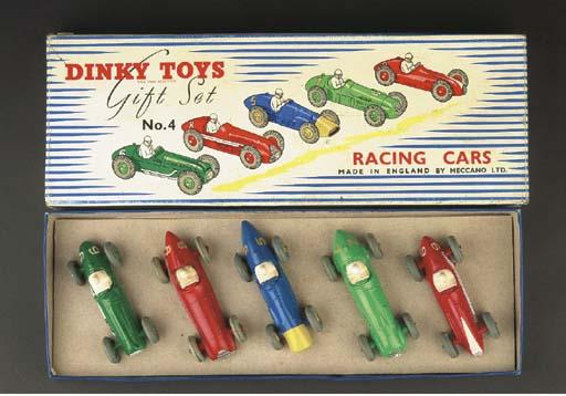 A Dinky Gift Set No. 4 Racing