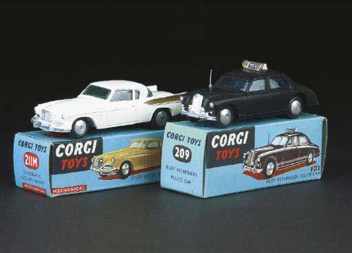 Corgi Cars, 1950s