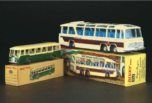 Dinky Buses and Commercials
