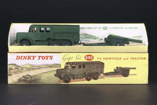 Dinky Military, 1950s