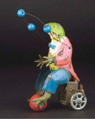 A German clockwork Juggling Ci