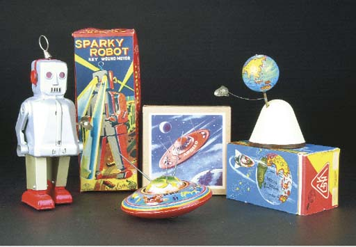 Space Toys, 1950s
