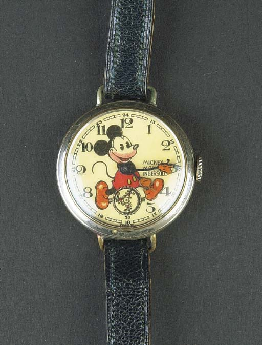 An Ingersoll Mickey Mouse Wris