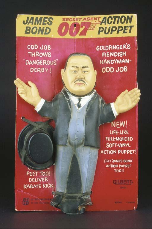 A Gilbert soft vinyl 'Odd Job'