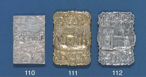 A Victorian silver-gilt