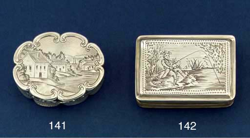 A William IV vinaigrette