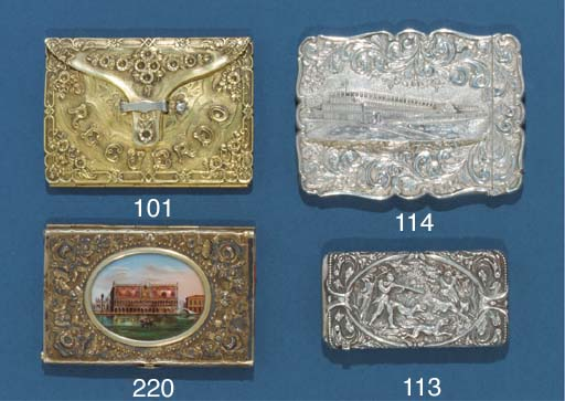 A silver-gilt carnet-de-bal