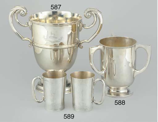 AN IRISH SILVER LOVING CUP