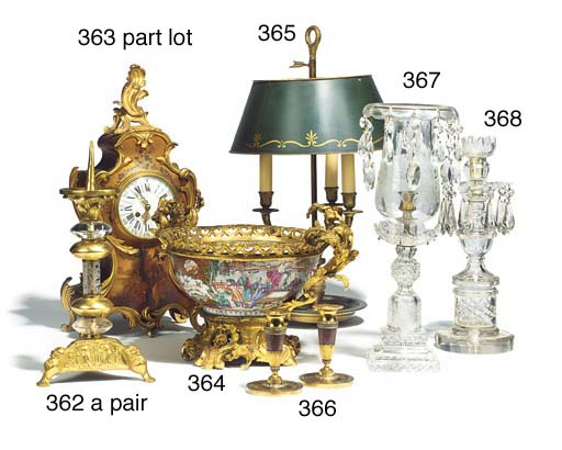 A French gilt bronze mounted l