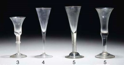 An airtwist wine-glass
