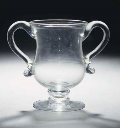 A loving-cup coin-goblet