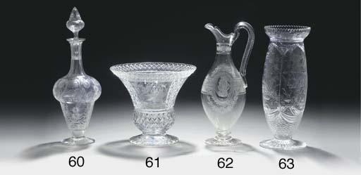 A Stourbridge 'rock-crystal' s