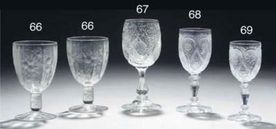A Stourbridge 'rock crystal' s