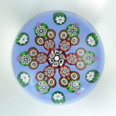 A Paul Ysart patterned millefi
