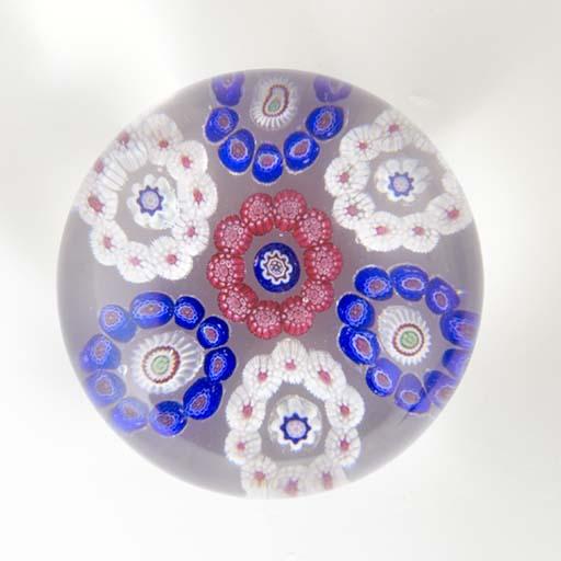 A Baccarat patterned millefior