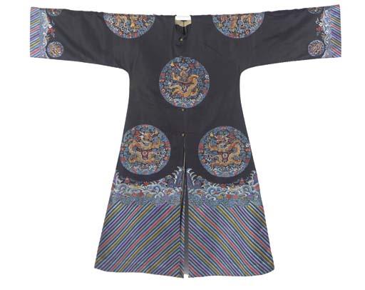 A long gua robe for a high-ran