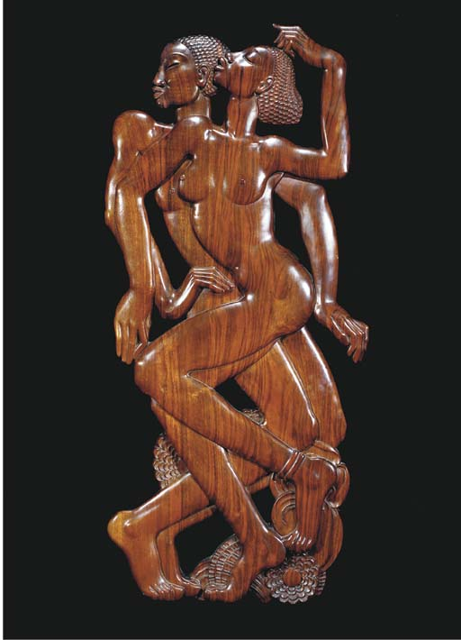 'HYMN TO HYMAN' A LARGE CARVED