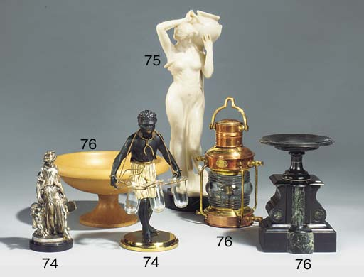 A French silvered bronze group