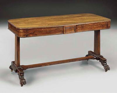 A rosewood library table