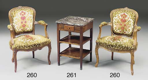 A French Directoire marble top