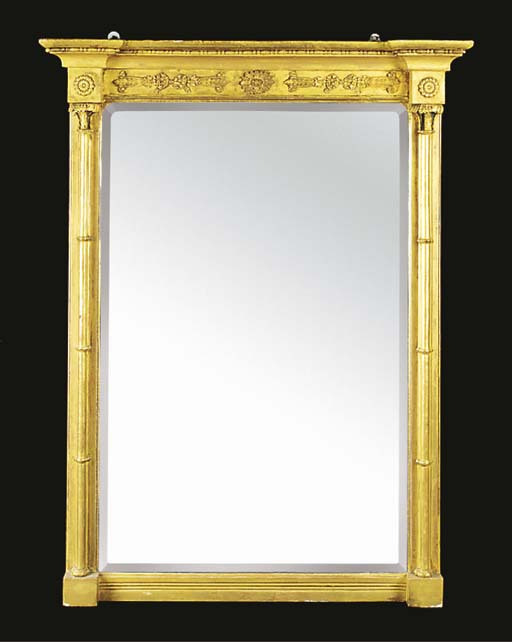 An early Victorian giltwood pi