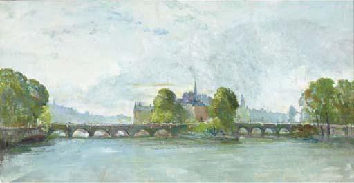 Charles Cundall, R.A., R.W.S. (1890-1971)