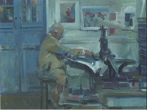 Tom Coates, R.W.S. (b.1941)