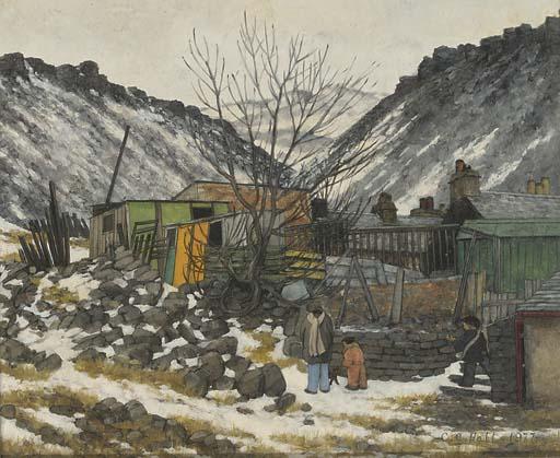 Christopher Hall (b.1930)