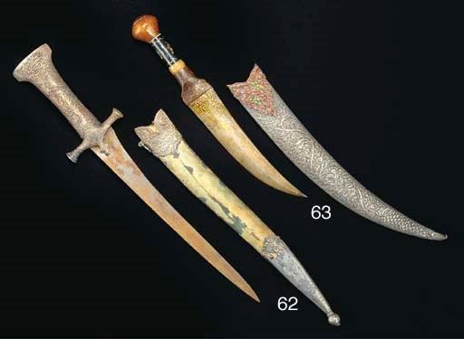 An Ottoman dagger, Turkey, 19t