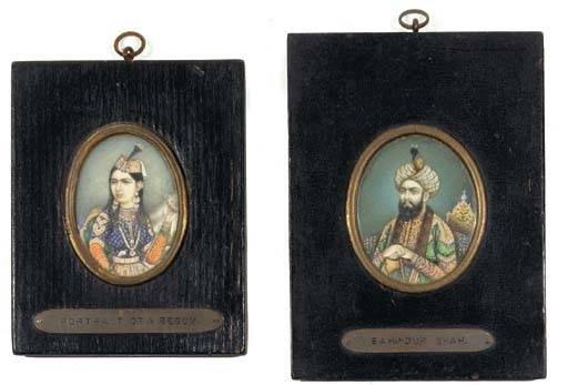 TWO PORTRAITS, DELHI SCHOOL, 1
