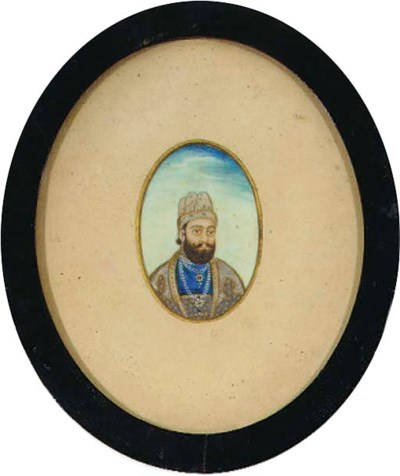 THREE PORTRAITS OF SIKH OR PUN