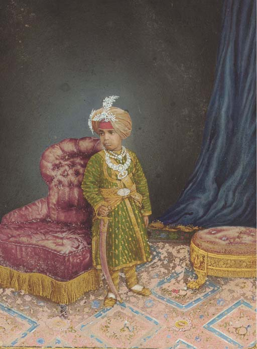 PORTRAIT OF A YOUNG BOY, JAIPU