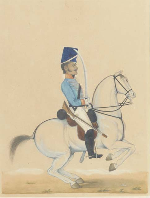 A Bengal Cavalry trooper, 19th