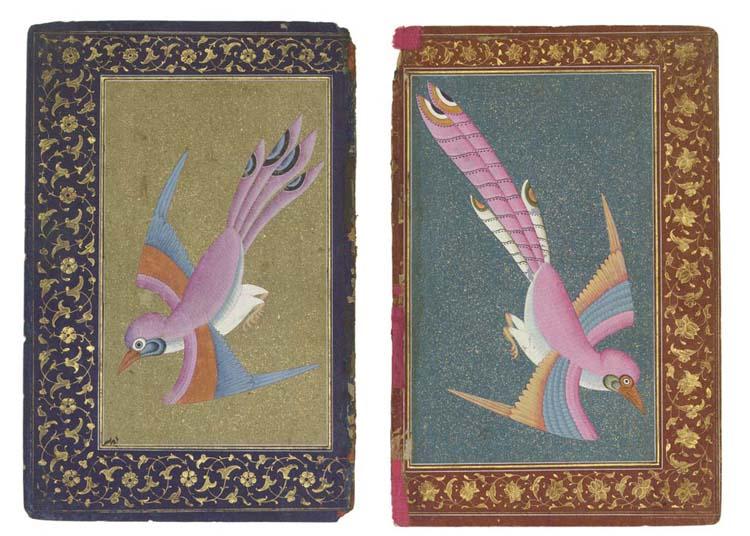 TWO ILLUSTRATIONS OF BIRDS, PR