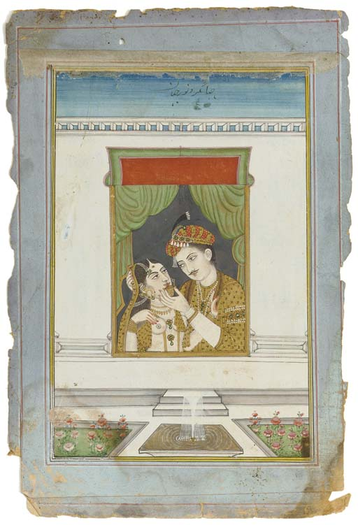 A PRINCE AND HIS LOVER, DECCAN