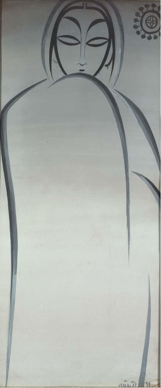 JAMINI ROY (INDIA 1887-1972) A