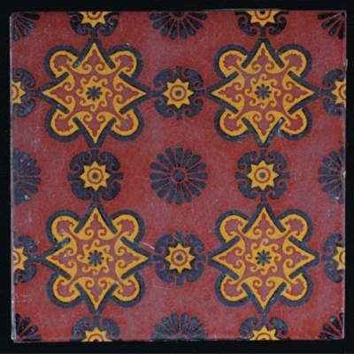Fifteen Minton Hollins Tiles