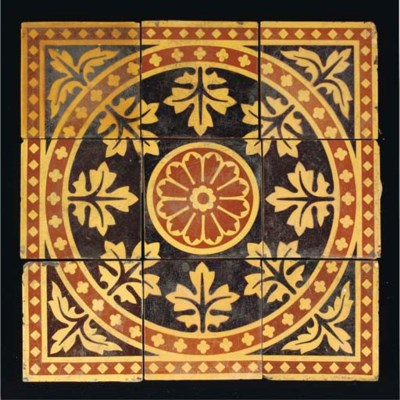 A Hargreaves and Craven Tile P
