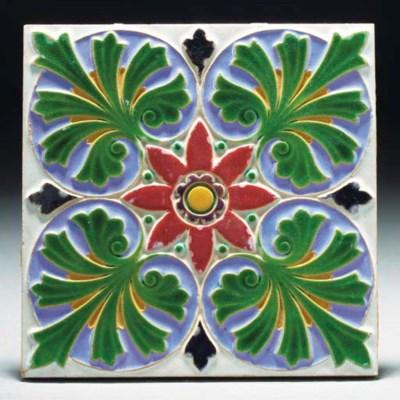 Fifteen Minton Tiles
