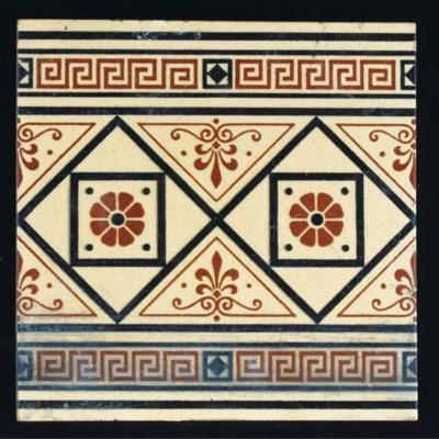 Ten Minton Tiles