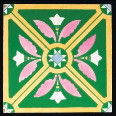 Four Minton Hollins Tiles