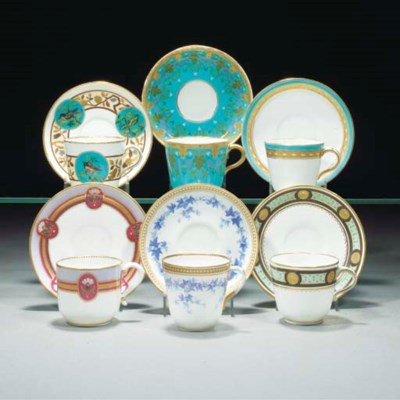 A Minton Cup and Saucer