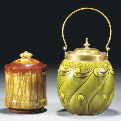 A Linthorpe Pot and Cover