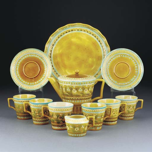 A Linthorpe Part Tea Service