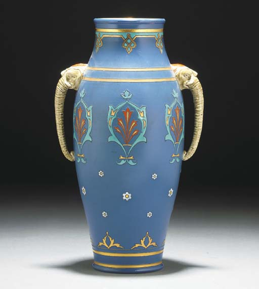 A Metlach Twin-handled Vase
